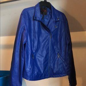 Fringed Moto Jacket sz 1XL